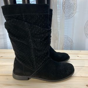 TOMS Serra suede slouch boots woman's 7.5
